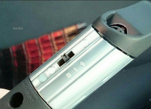 カーアロマデュフューザーの切り替えスイッチ画像