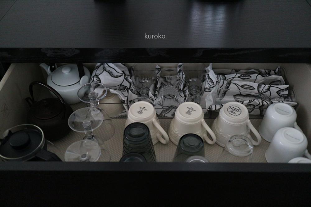 コップ類(グラス・マグカップ)の収納