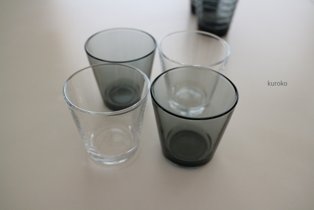 イッタラのグラスのカルティオ