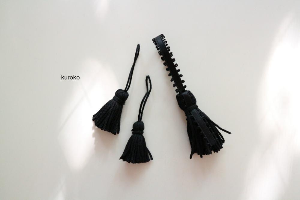 100均の毛糸を使ったハンドメイドのタッセル
