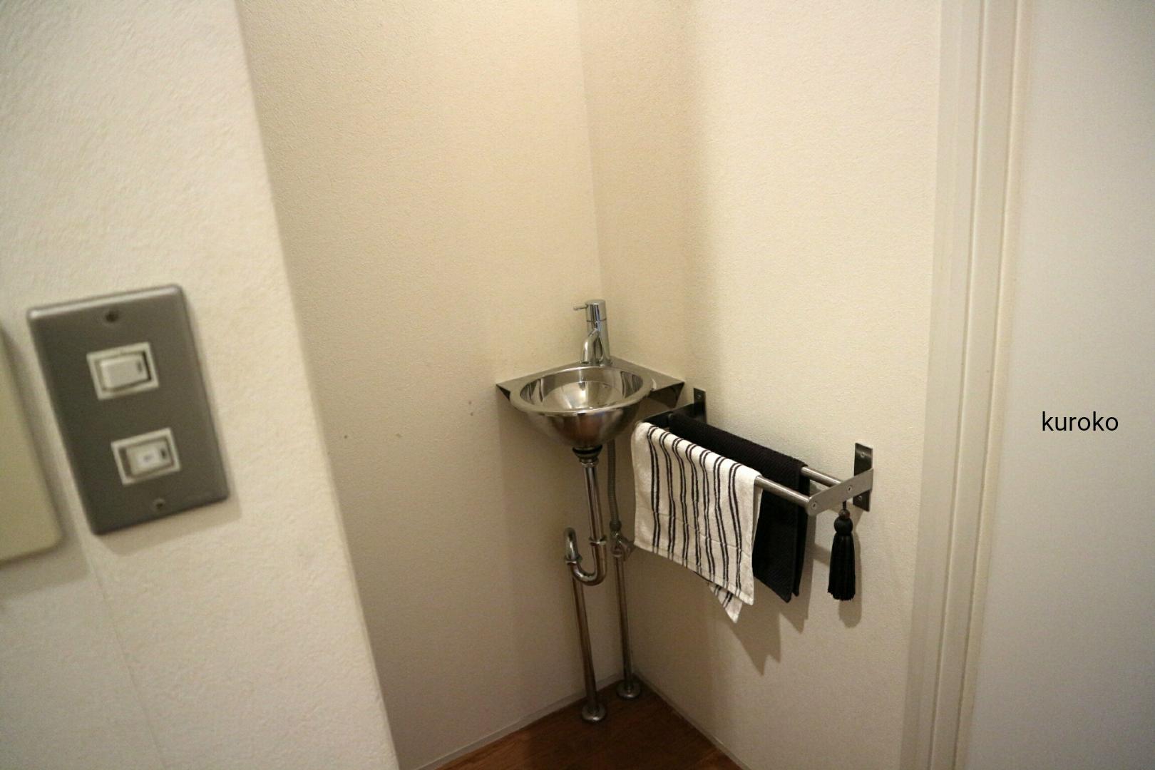 トイレの手前