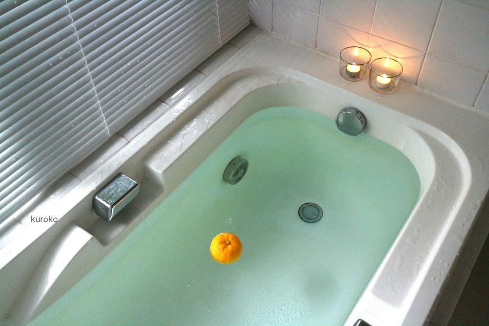 プカプカ柚子が浮かぶお風呂