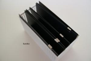 100均のカードホルダーを利用したレシートの保管・収納の画像