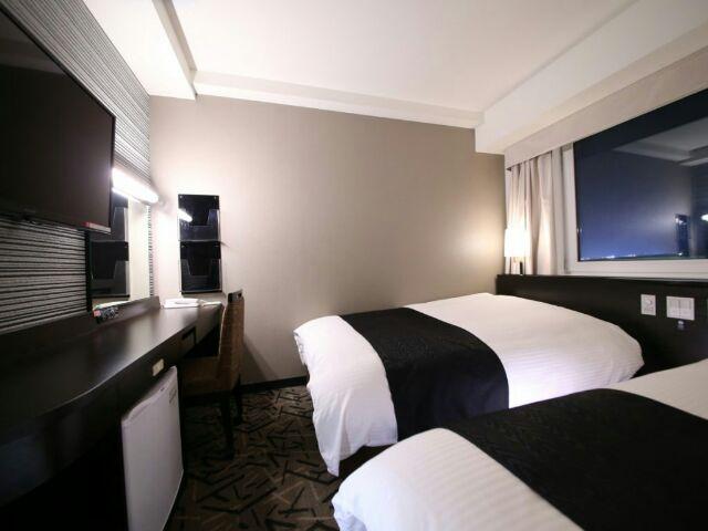 アパホテルスタンダードツインルームの画像