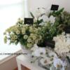 造花をフラワーショップ風に可愛く飾る【見せる収納】