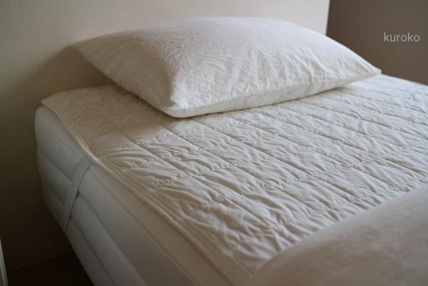 無印のベッドパッドの画像