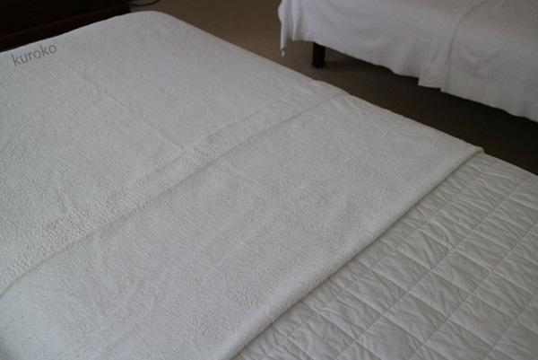 無印のタオルケットの画像