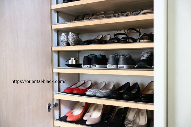 靴の収納の画像