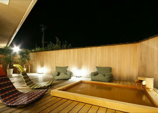 有馬温泉スパテラス紫翠露天風呂の画像